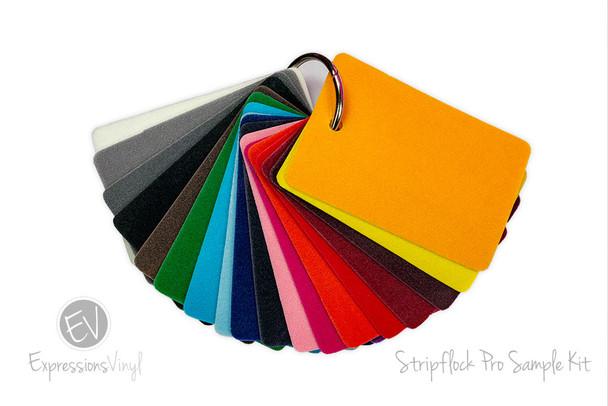 StripFlock PRO Heat Transfer - Color Sample Kit