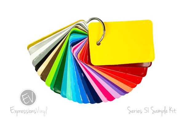 Series 51 Permanent Vinyl - Color Sample Kit