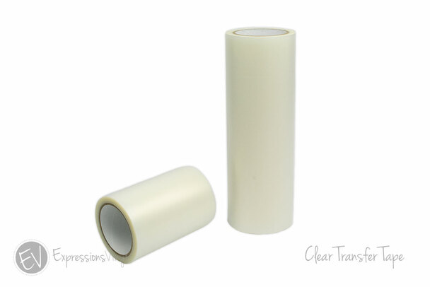 Clear Transfer Tape Roll