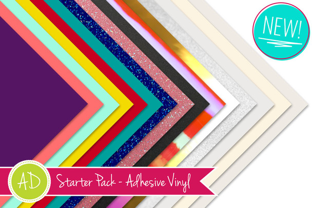 Expressions Vinyl Adhesive Vinyl Starter Pack