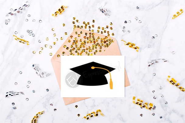 Graduation Cap Digital Cut File