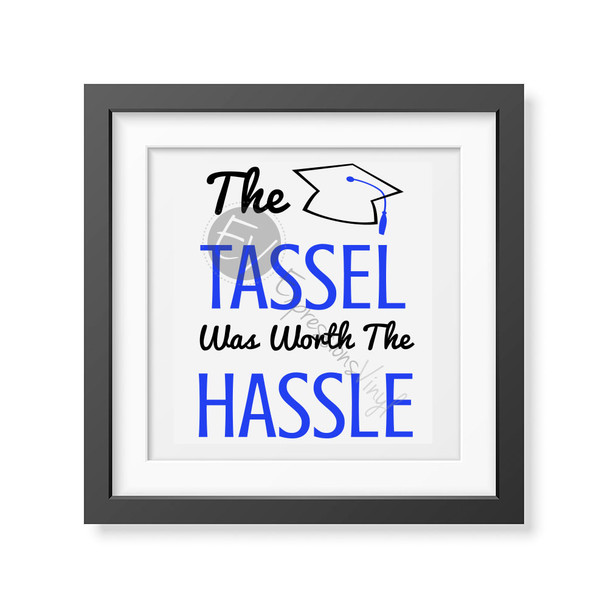 Tassel Hassle Digital Cut File