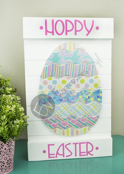 Easter Egg Digital Cut File