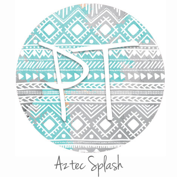 "12""x12"" Permanent Patterned Vinyl - Aztec Splash"