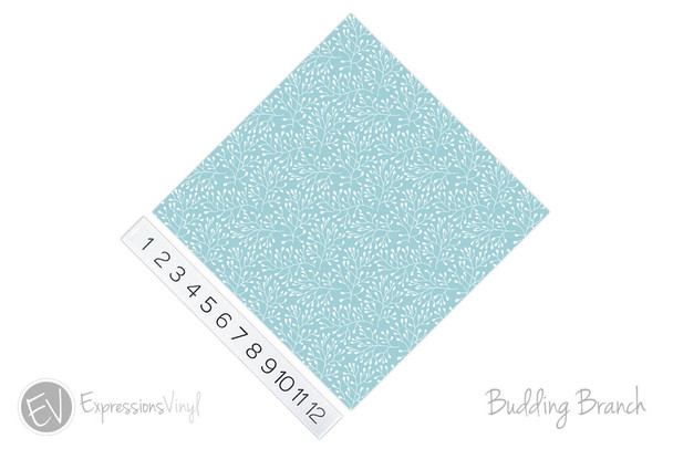 "12""x12"" Permanent Patterned Vinyl - Budding Branch"