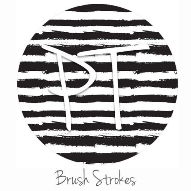 "12""x12"" Patterned Heat Transfer Vinyl - Brush Strokes"