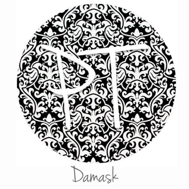 """12""""x12"""" Patterned Heat Transfer Vinyl - Damask"""