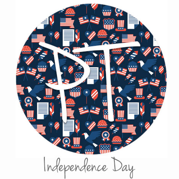 "12""x12"" Patterned Heat Transfer Vinyl - Independence Day"