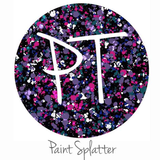 Patterned Vinyl - Paint Splatter