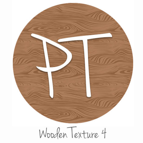 "12""x12"" Patterned Heat Transfer Vinyl - Wooden Texture 4"