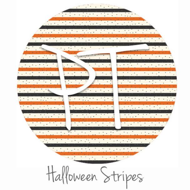 "12""x12"" Permanent Patterned Vinyl - Halloween Stripes"