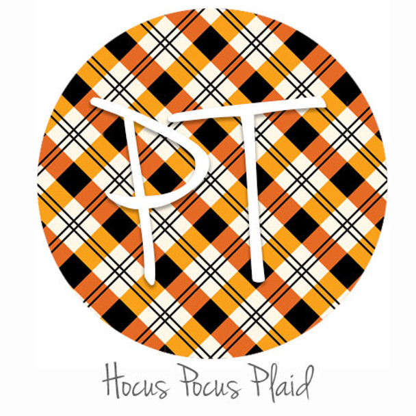 "12""x12"" Permanent Patterned Vinyl - Hocus Pocus Plaid"