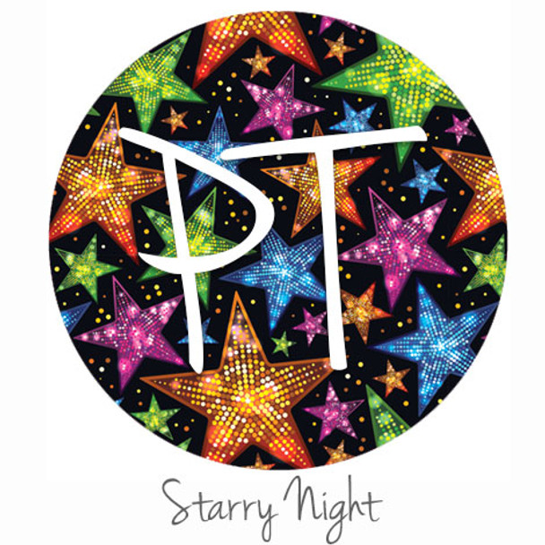 "12""x12"" Patterned Heat Transfer Vinyl - Starry Night"