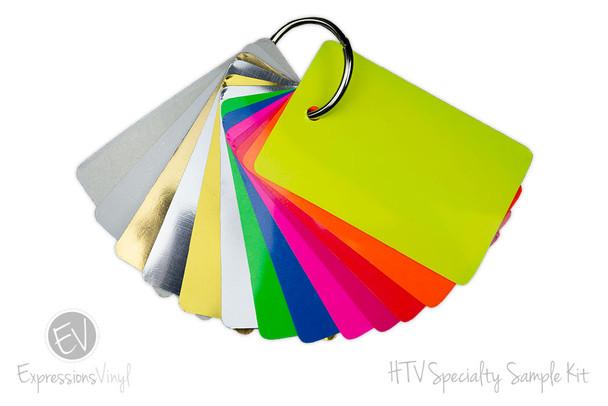 HTV Specialty Vinyl  - Color Sample Kit
