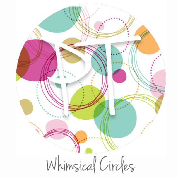 "12""x12"" Patterned Heat Transfer Vinyl - Whimsical Circles"