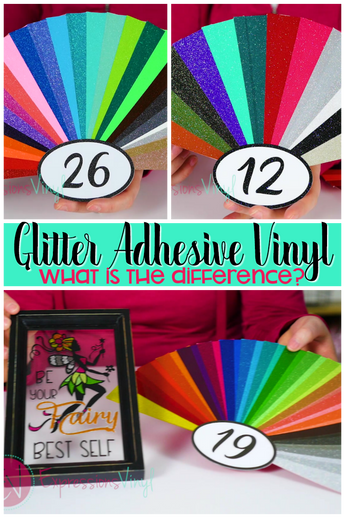 ExpressionsVinyl.com's Glitter Adhesive Families