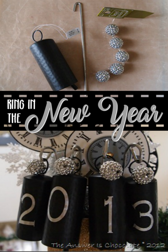 Ringing In The New Year: Vinyl Embellished Bells