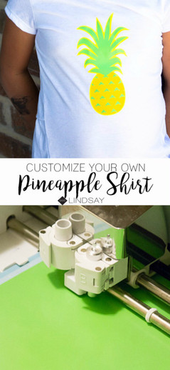 DIY Pineapple Shirt