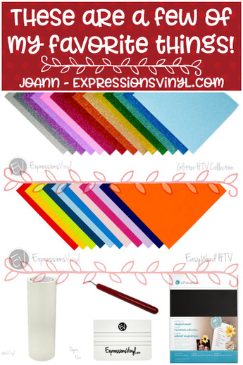 JoAnn's Top 5 - Expressions Vinyl