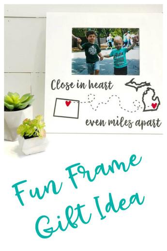 Vinyl Frame Gift Ideas