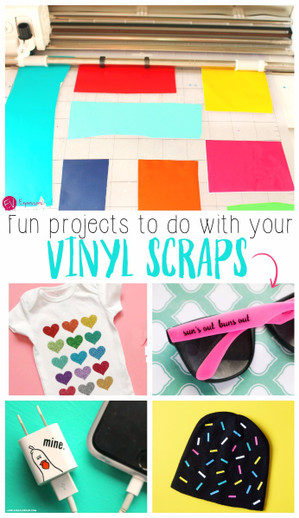 Don't Throw Them Away! Try These Creative Ways to Use Your Craft Vinyl Scraps