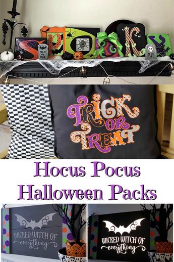 NEW Hocus Pocus Halloween Pack