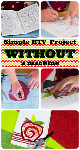 Using a Quilting book instead of a Machine