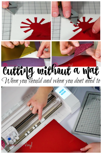 Cutting without a mat on your Silhouette Cameo 3