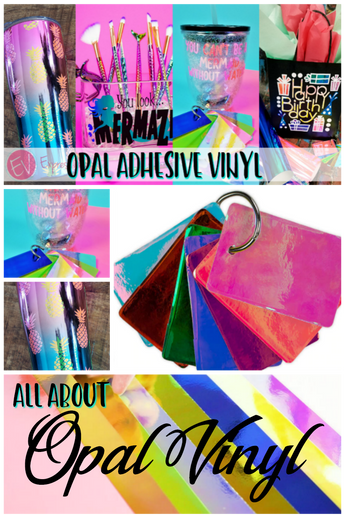All about Opal Adhesive Vinyl