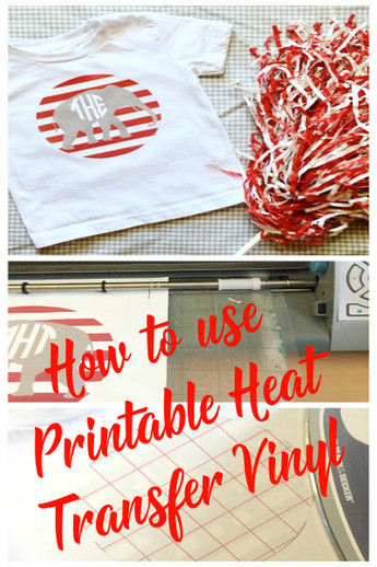 picture relating to Silhouette Printable Heat Transfer called Printable Warm Go Vinyl How Towards - Expressions Vinyl