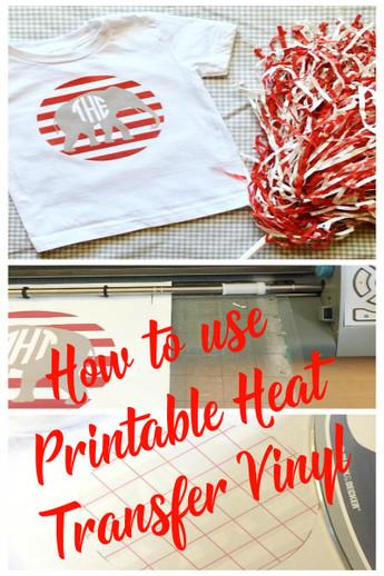 picture regarding How to Use Printable Vinyl identified as Printable Warm Go Vinyl How Towards - Expressions Vinyl