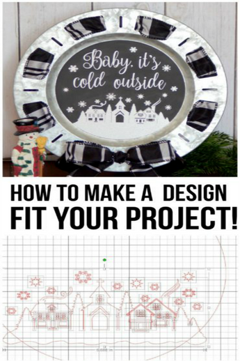 How to adjust a design to fit your project