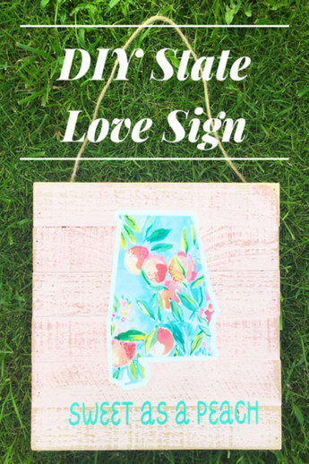 State Love with Printable Vinyl