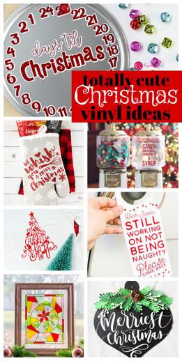 Christmas Vinyl Projects Expressions Vinyl
