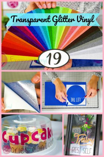 Transparent Glitter Adhesive
