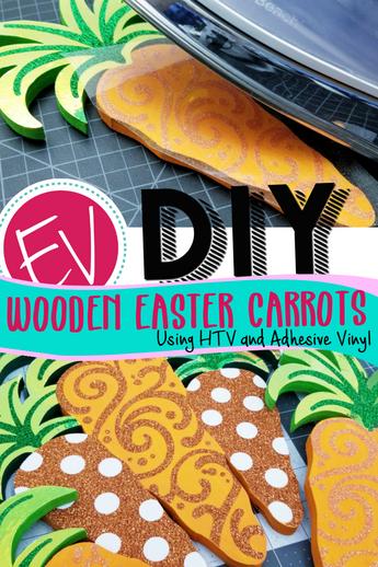 DIY Easter Carrot Sign