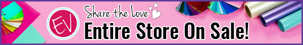 Share The Love....Entire Store On Sale This Month!