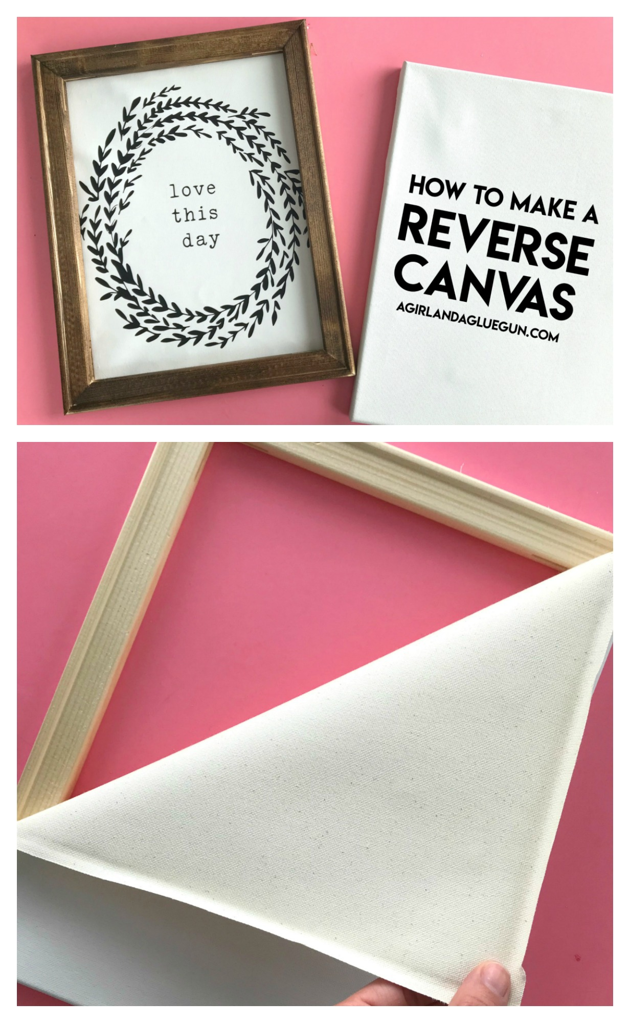 Reverse Canvas With Easyweed Vinyl Expressions Vinyl