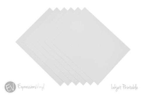 Inkjet Printable Vinyl Sheet