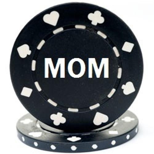 Custom Hot Stamped Suited Design Poker Chips