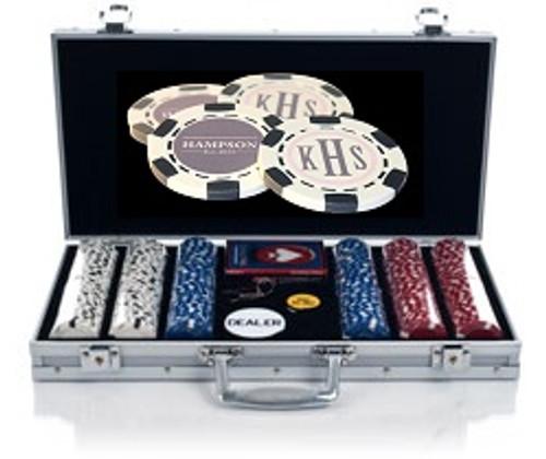 300 Chip Custom Poker Chip Set