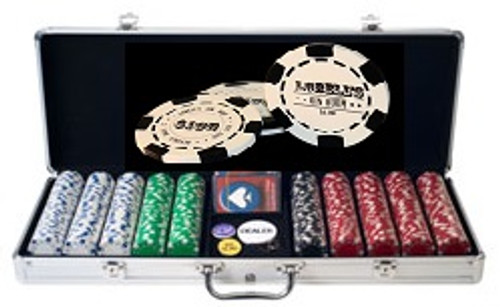 500 Chip Custom Poker Chip Set
