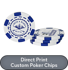Shop Direct Print Poker Chips