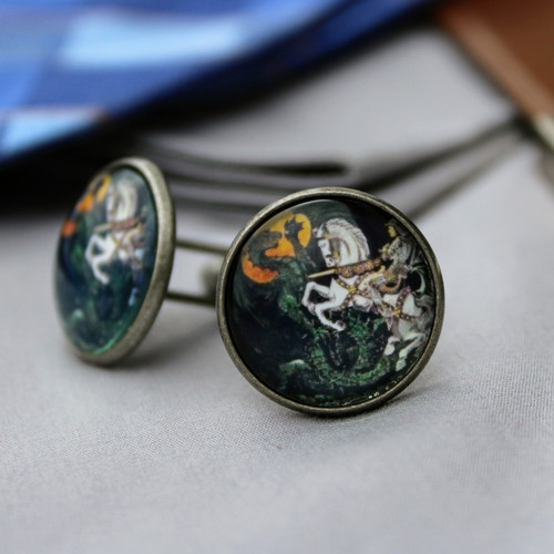 Saint George Cufflinks
