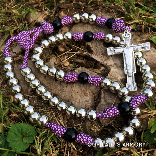Christ the King Paracord Rosary
