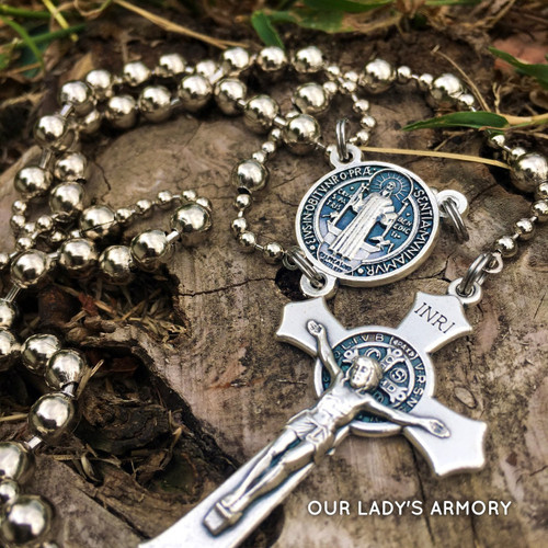 WWI Battle Rosary - Saint Benedict