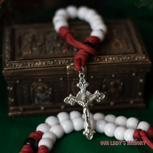 Saint Nicholas One-Decade Paracord Rosary