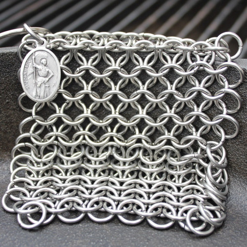 Saint Joan of Arc Chainmail Scrubber