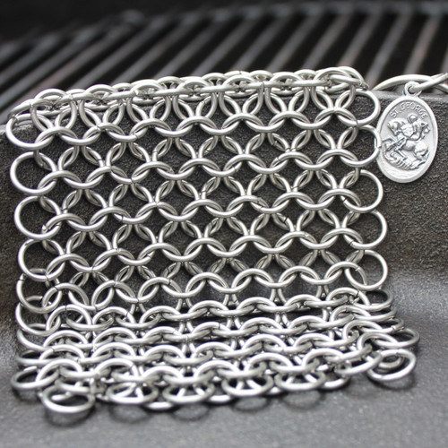 Saint George Chainmail Scrubber