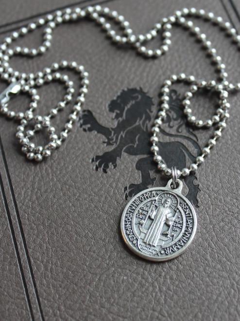 Saint Benedict Medal Necklace